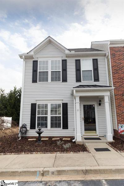 Greer Condo/Townhouse Contingency Contract: 10 Spring Crossing