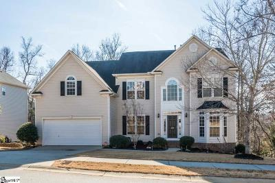 Simpsonville Single Family Home For Sale: 107 Winding River