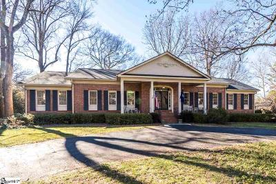 Greenville Single Family Home For Sale: 116 Rockingham