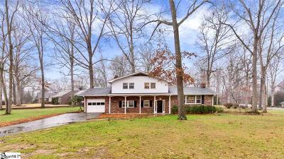 Taylors Single Family Home For Sale: 13 Kimberly