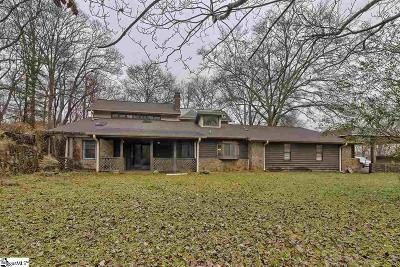 Easley Single Family Home For Sale: 150 N Fishtrap