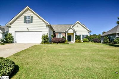 Simpsonville Single Family Home Contingency Contract: 304 Walkingstick