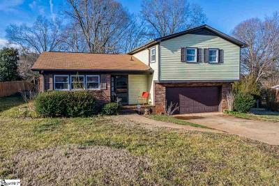 Simpsonville Single Family Home Contingency Contract: 106 Delmar