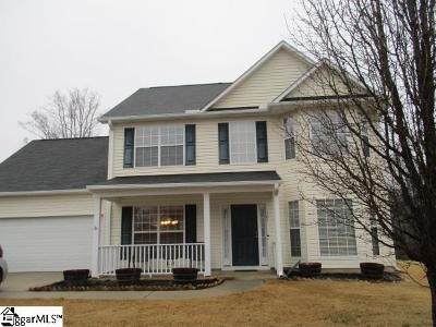 Mauldin Single Family Home For Sale: 103 Merlot