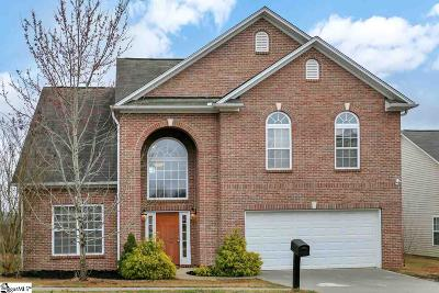 Taylors Single Family Home For Sale: 5 Peaks