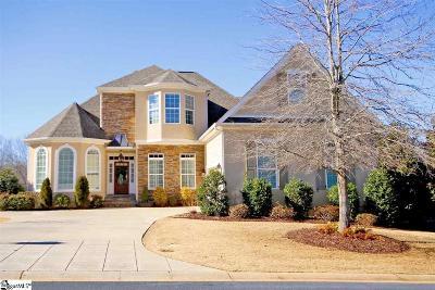 Greenville Single Family Home For Sale: 100 Hampton Grove