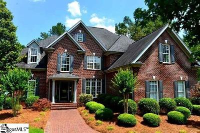 Spartanburg Single Family Home For Sale: 211 Indian Wells