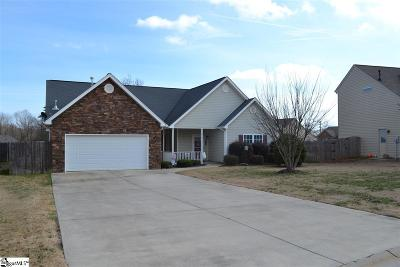 Simpsonville Single Family Home For Sale: 108 Sedgebrook