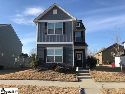 Simpsonville Single Family Home Contingency Contract: 10 Ellis Mill
