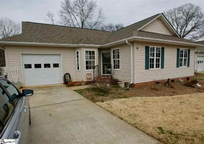 Greenville Single Family Home Contingency Contract: 19 Anniston