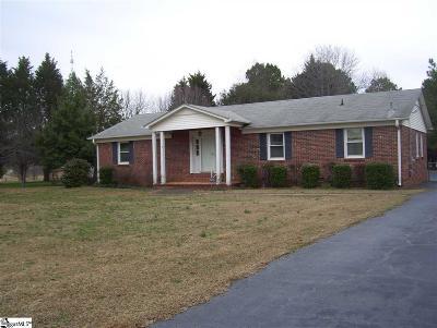 Simpsonville Single Family Home For Sale: 3405 Woodruff