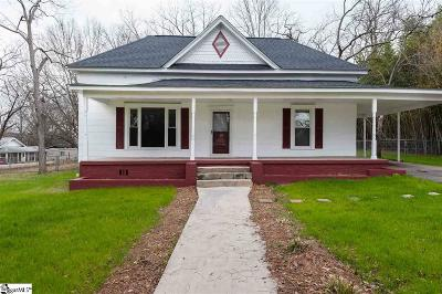 Easley Single Family Home For Sale: 512 W 4th