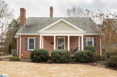 Greenville Single Family Home For Sale: 12 Kenwood