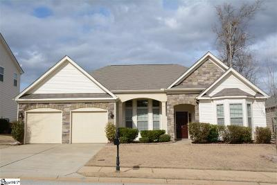 Simpsonville Single Family Home Contingency Contract: 2 Glenbow