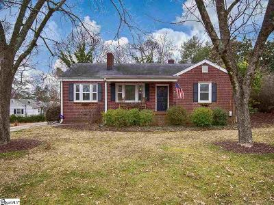 Easley Single Family Home Contingency Contract: 306 S B