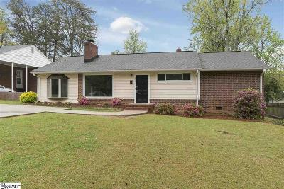 Greenville Single Family Home For Sale: 211 Broughton