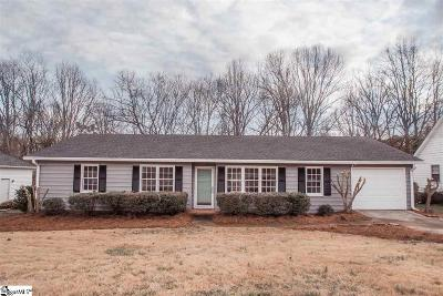 Greenville County Single Family Home Contingency Contract: 118 Canebrake