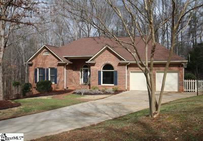 Spartanburg Single Family Home Contingency Contract: 407 Woodgrove