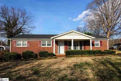 Greenville Single Family Home Contingency Contract: 2334 Old Parker