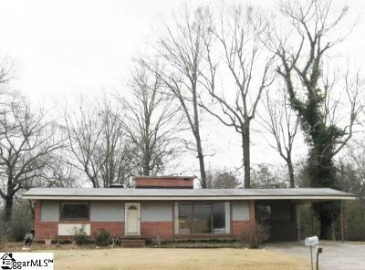 Greenville Single Family Home Contingency Contract: 1305 West Parker