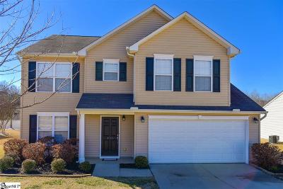 Simpsonville Single Family Home For Sale: 103 Gibby