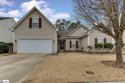 Simpsonville Single Family Home Contingency Contract: 104 Scotsburn