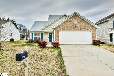 Simpsonville Single Family Home Contingency Contract: 5 Hartwell