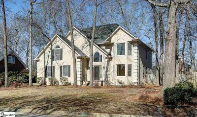 Simpsonville Single Family Home For Sale: 305 Chenoweth