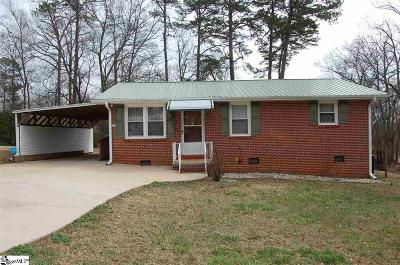 Greenville Single Family Home Contingency Contract: 25 Mora