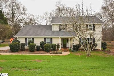 Simpsonville Single Family Home Contingency Contract: 110 Chestnut Oaks
