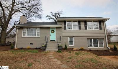 Greenville Single Family Home Contingency Contract: 28 Dolphin