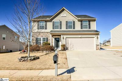 Simpsonville Single Family Home Contingency Contract: 78 Young Harris
