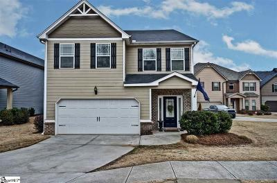 Greenville Single Family Home For Sale: 137 River Valley