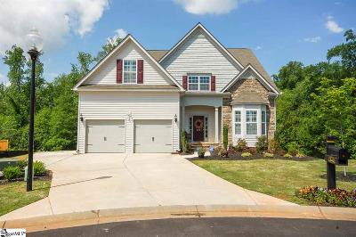 Simpsonville Single Family Home For Sale: 248 Heathbury