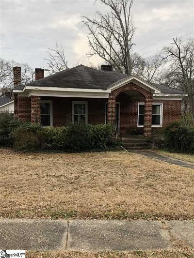 Greenville Single Family Home For Sale: 213 Augusta