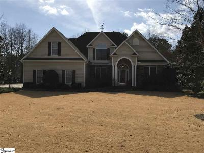 Easley Single Family Home For Sale: 529 Brighton