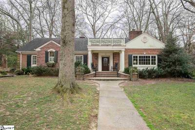 Greenville SC Single Family Home For Sale: $789,900