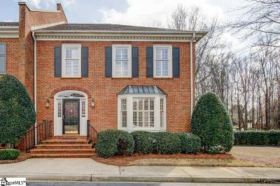 Greenville Condo/Townhouse For Sale: 238 Glenbrooke