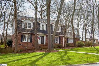Greenville Single Family Home For Sale: 212 Cannon