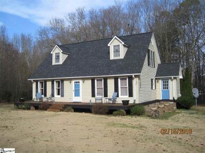 Greenville SC Single Family Home For Sale: $156,000