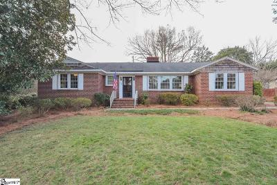 Greenville SC Single Family Home For Sale: $259,747