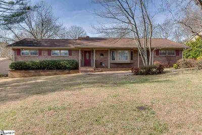 Greenville Single Family Home For Sale: 1 Vista