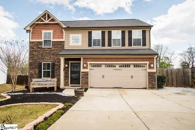 Taylors Single Family Home For Sale: 62 Madeline Cir