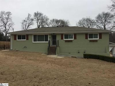 Mauldin Single Family Home For Sale: 319 Elm