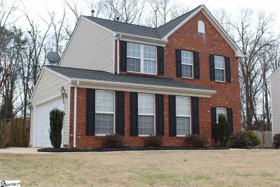 Fountain Inn Single Family Home For Sale: 425 Scarlet Oak