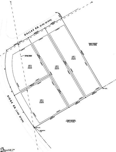Greenville Residential Lots & Land For Sale: 1501 Ridge