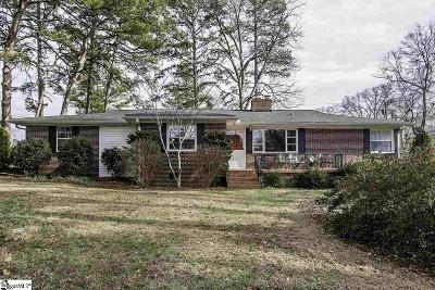 Fountain Inn Single Family Home For Sale: 302 Woodvale