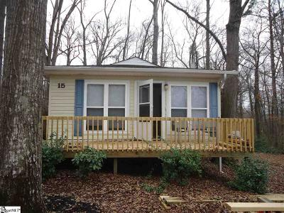 Greenville SC Single Family Home For Sale: $43,000