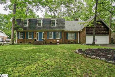 Greenville SC Single Family Home For Sale: $248,400