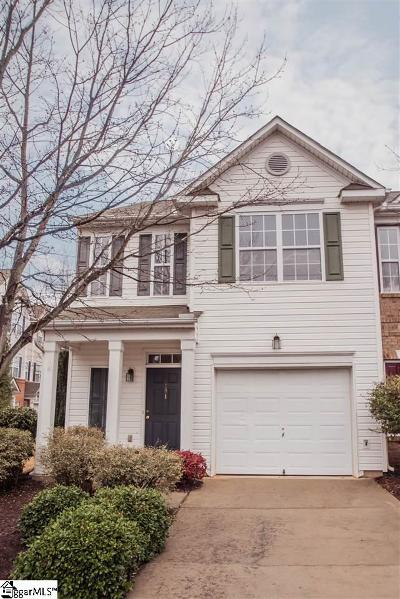 Greenville SC Condo/Townhouse For Sale: $170,000